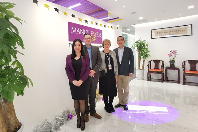 The University of Manchester China Centre hosts delegation from British Council China